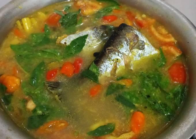 Begini Cara Membuat Ikan patin kuah kuning asem pedas…