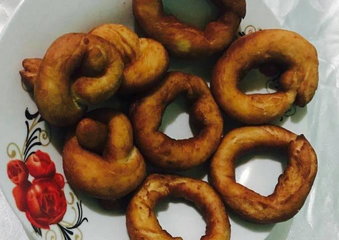 Home made doughnuts
