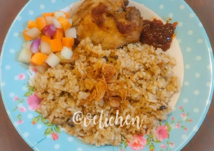 Nasi Briyani Ayam Tanpa Santan
