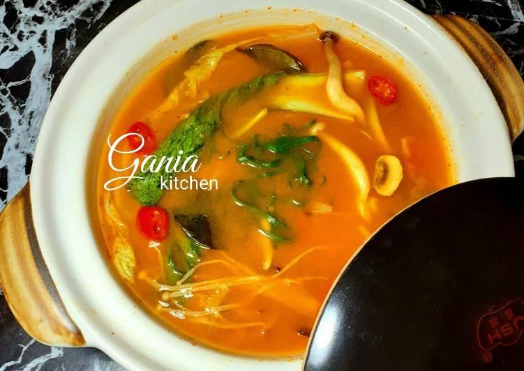 Tom Yum Soup Ikan Dori