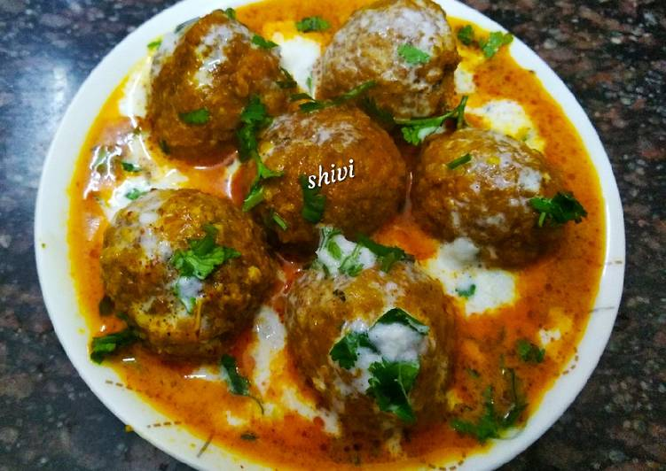 Shahi Cauliflower Kofta curry
