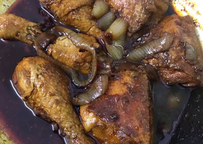 Ayam masak kicap simple
