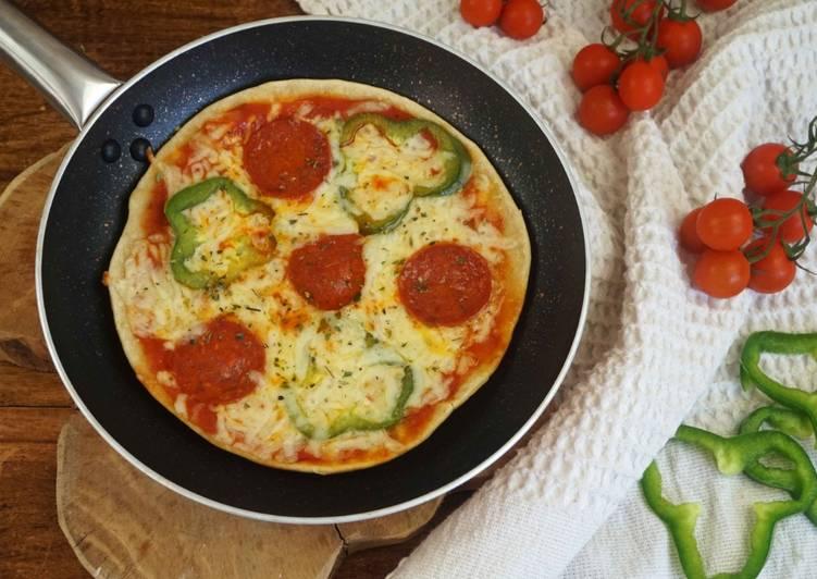 como hacer una pizza sin levadura