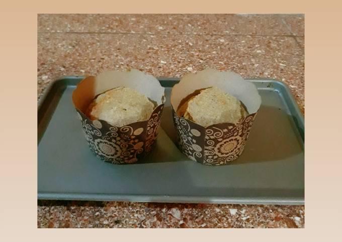 Cupcake 3 bahan (diet edition)