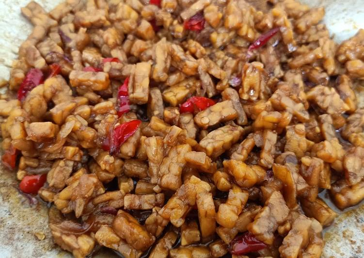 Resep Masak Orek Tempe Pedas Manis Masakan Rumahan Simple Resep Masakan Afika