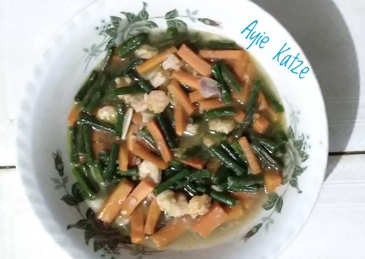 07. Tumis kacang panjang wortel