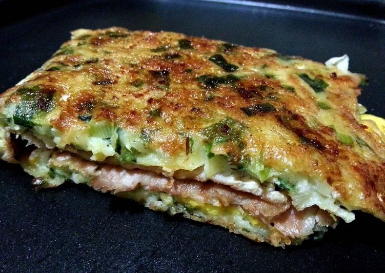 Leek pancake ~ Taiwanese flavor