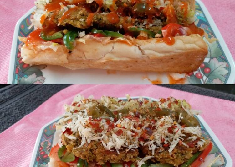 Chicken Subway Sandwich