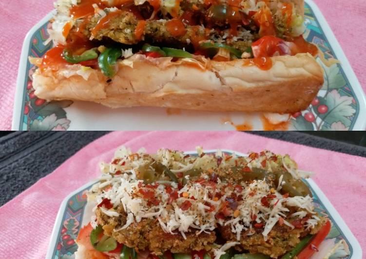 Simple Way to Make Perfect Chicken Subway Sandwich
