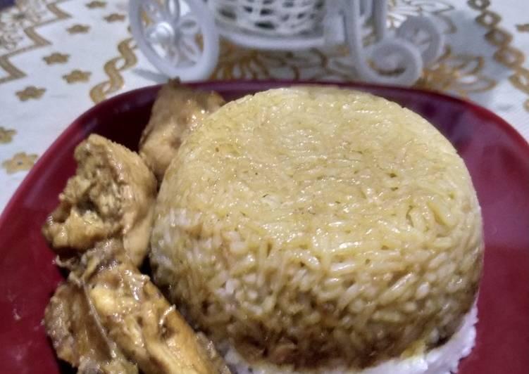 Nasi Tim Ayam Kecap