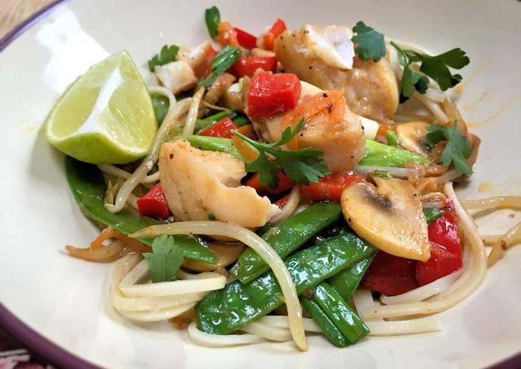 Steps to Make Perfect Thai fish stir fry