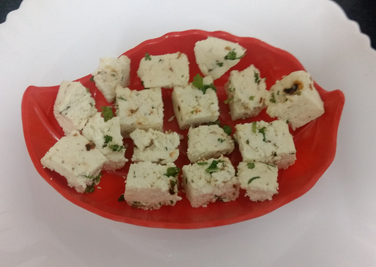 Spiced Paneer Cottage Cheese Paneer With Twist Of Indian Spices Recipe By Supriya Agnihotri Shukla Cookpad