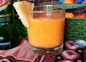Easiest Way to Make Appetizing Mango pineapple smoothie