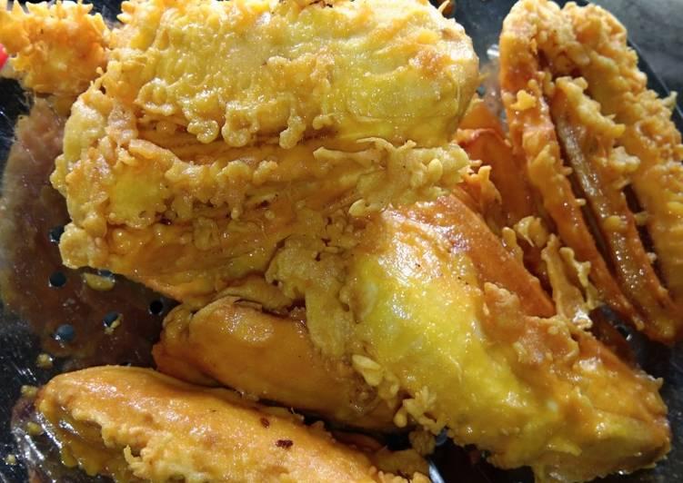 Pisang goreng krispy