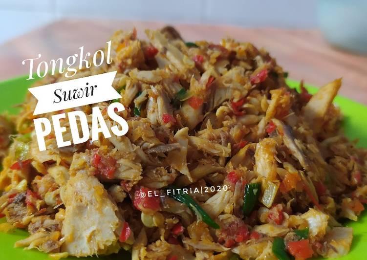 129. Tongkol Suwir Pedas - cookandrecipe.com