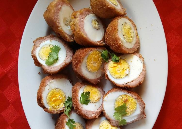 Use Food to Improve Your Mood Scotch Eggs