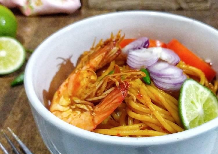 Mie Aceh (versi spagetti)