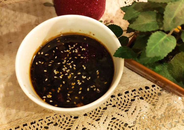 Sweet and sour glaze sauce