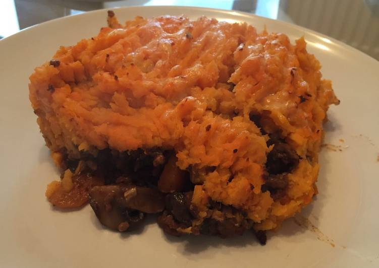 Sweet Potato Cottage Pie!