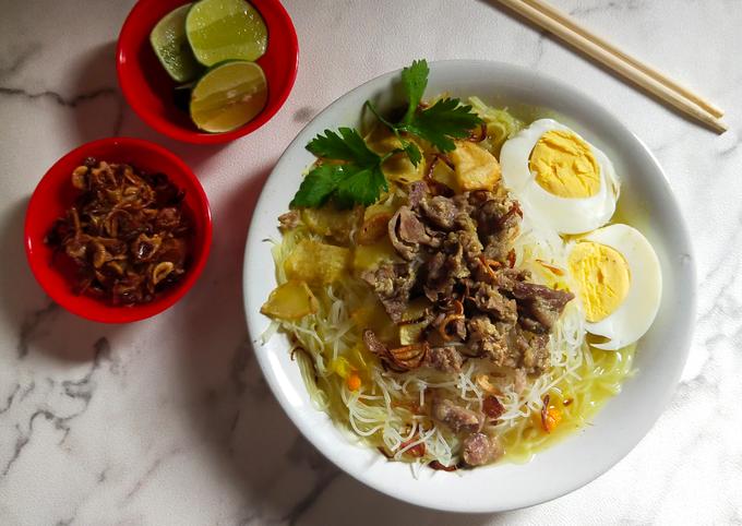 Bagaimana Membuat Soto daging Sederhana yang Sempurna