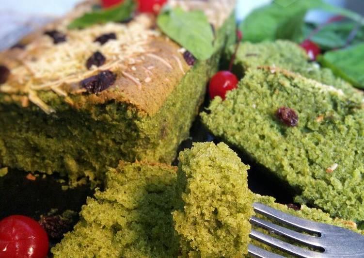 Spinach Cake / Cake Bayam