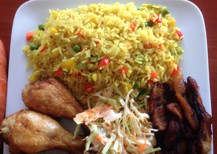 Recipe of Most Popular Simple veg fried rice