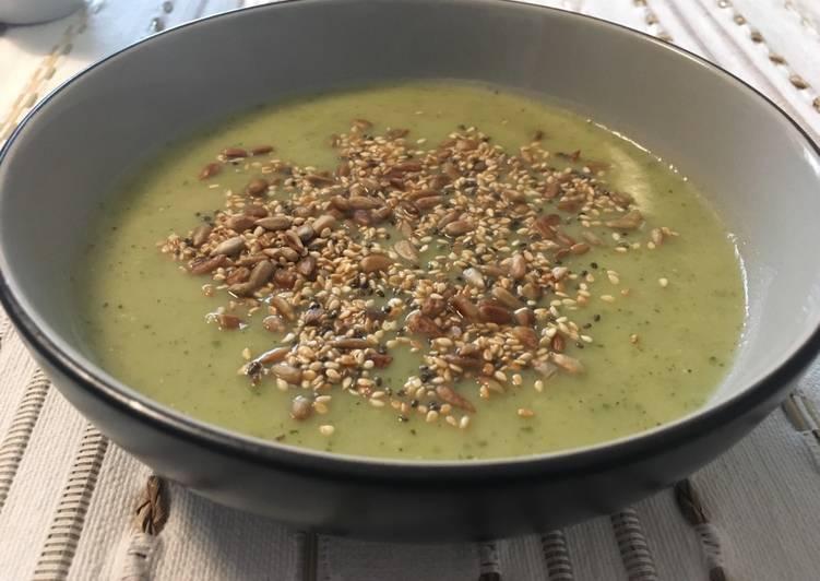 Ricetta Zuppa zucchine e porri (piccante)🥒🌶