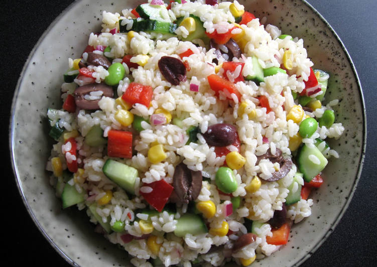 Easiest Way to Prepare Perfect Rice Salad