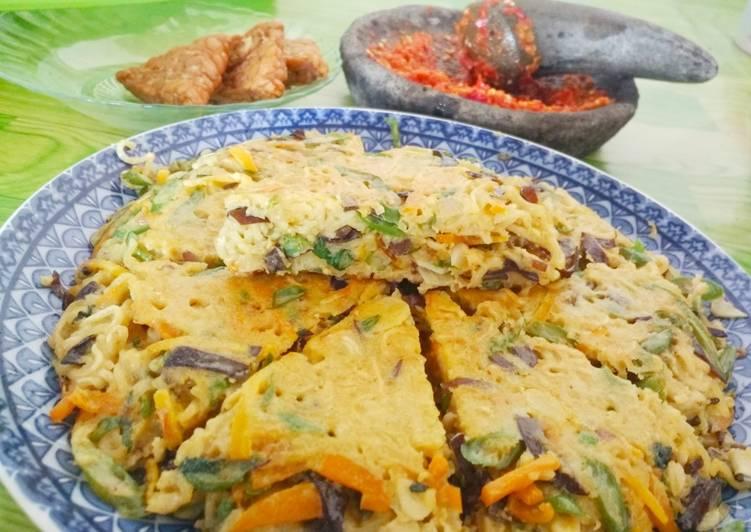 Omelet Mie Sayur