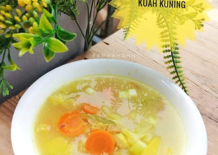 Sop Ayam Kuah Kuning