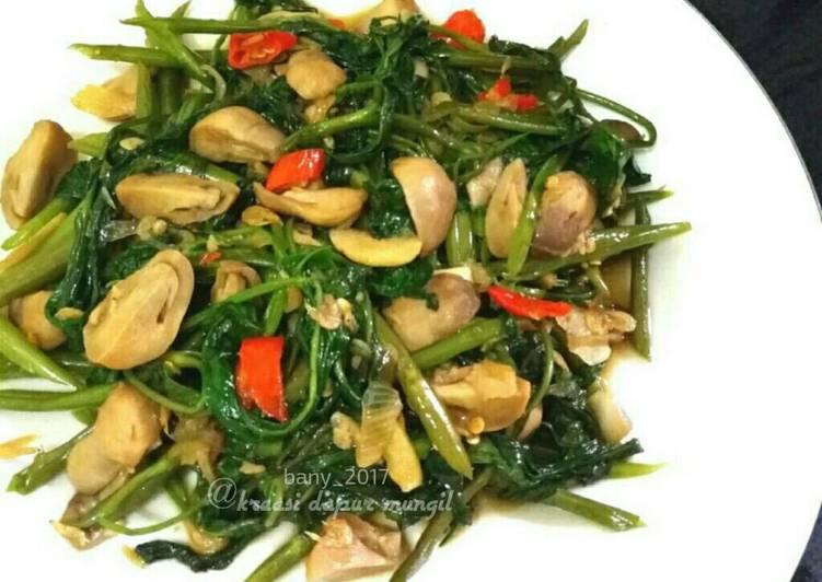 Cah Kangkung Jamur