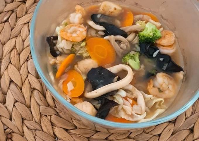 Capcay Seafood Penambah Stamina