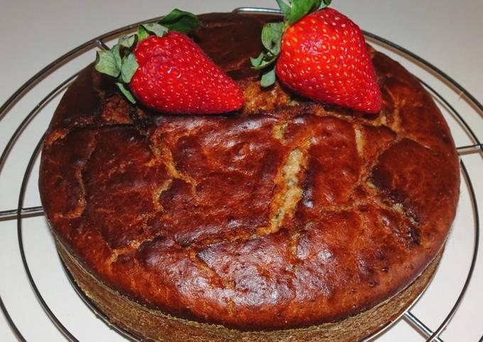 Gâteau hyper moelleux à la fraise (vegan)