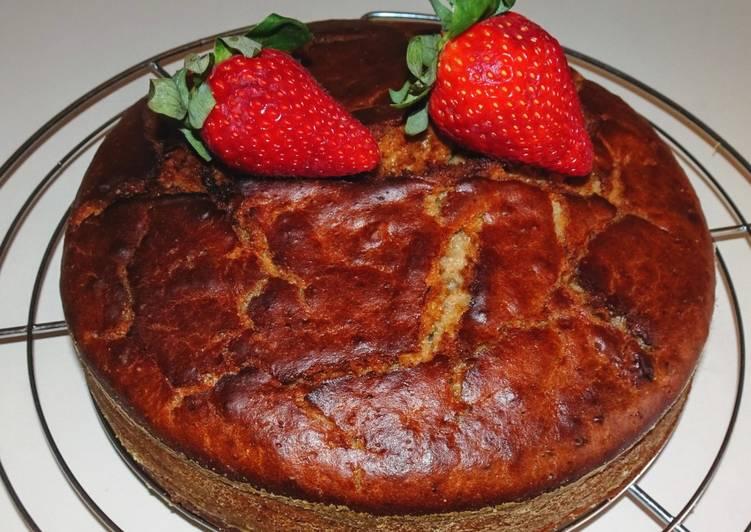 Recette Délicieuse Gâteau hyper moelleux à la fraise (vegan)