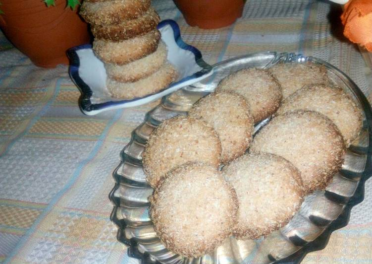 How to Make Speedy Coconut biscuits
