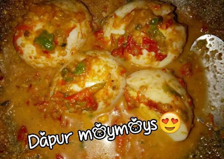 Telur pecak wong serang