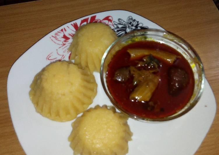 Eba muffin and Banga soup, Finding Nutritious Fast Food