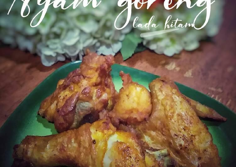 Ayam goreng lada hitam