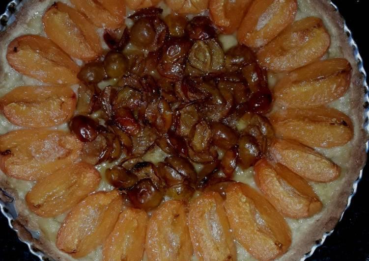 Recette: Délicieux Tarte beurrée mirabelle abricot