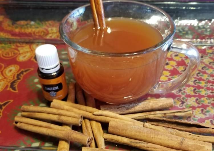 How to Prepare Homemade Hot spiced cider