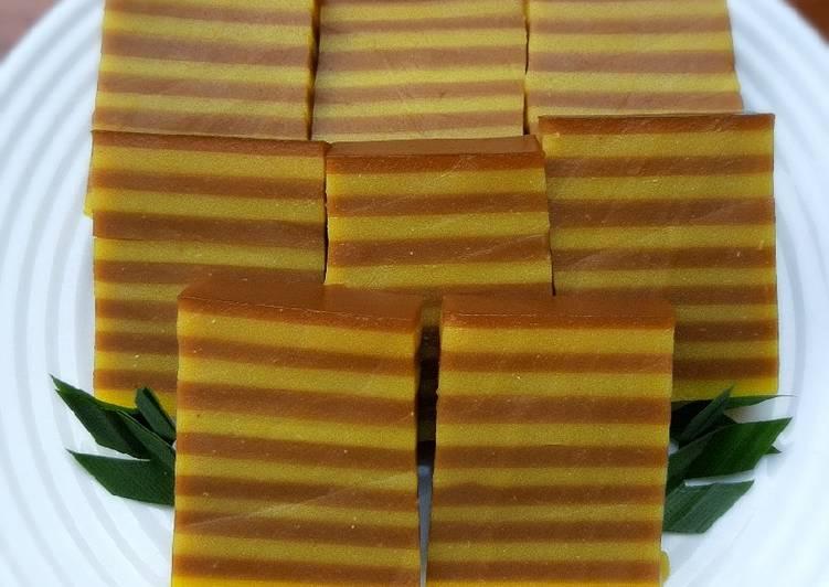 65.Kue Lapis Labu Kuning