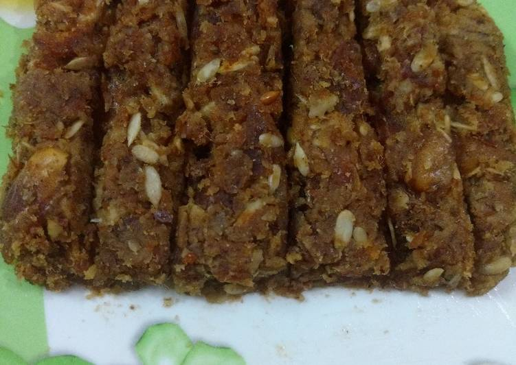 Dry fruits bars