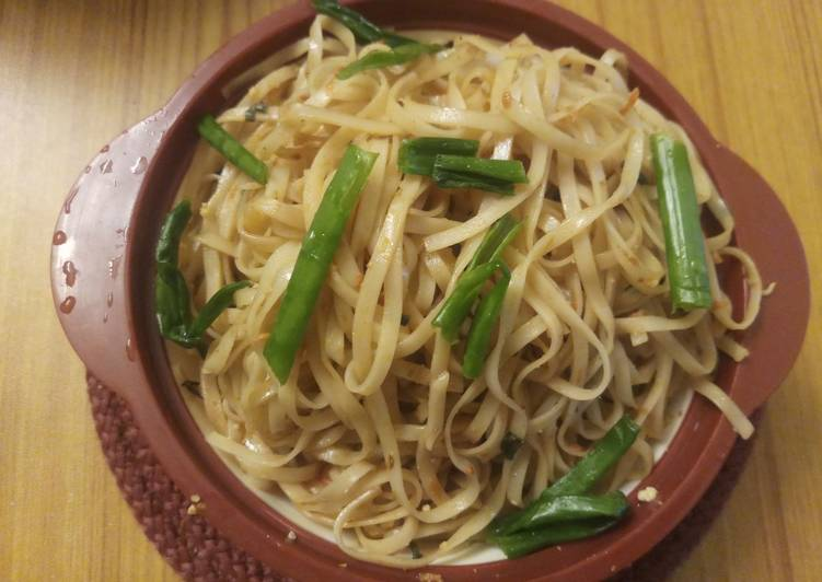 Rice Noodles Vegetables