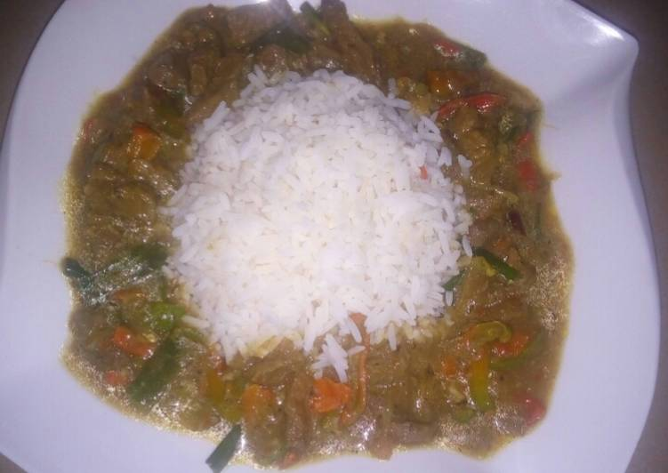 How to Prepare Award-winning Shredded beef soup with rice