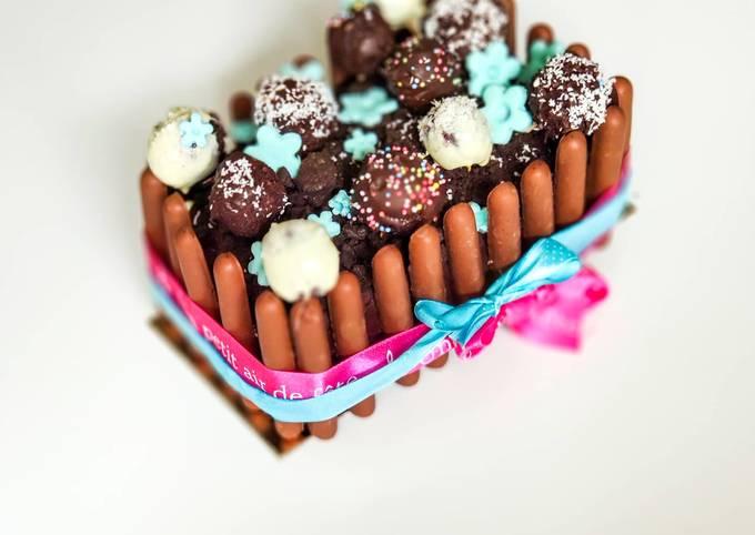 Gâteau jardinière facile