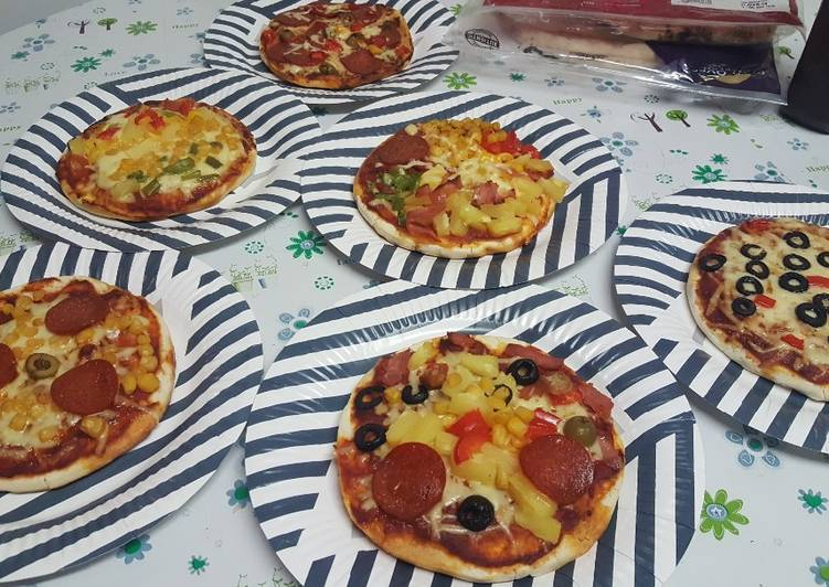 Steps to Make Ultimate Childrens pizzas