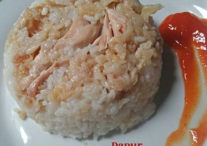 Resep Nasi ayam kfc ricecooker Anti Gagal