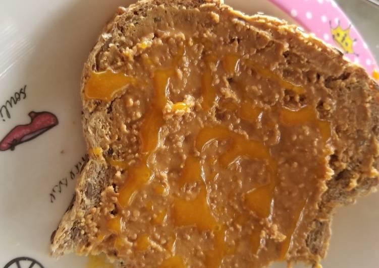 Steps to Prepare Speedy Almost Healthy Toast Spread