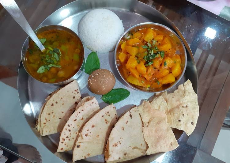 Recipe of Speedy Tyohar ki thali