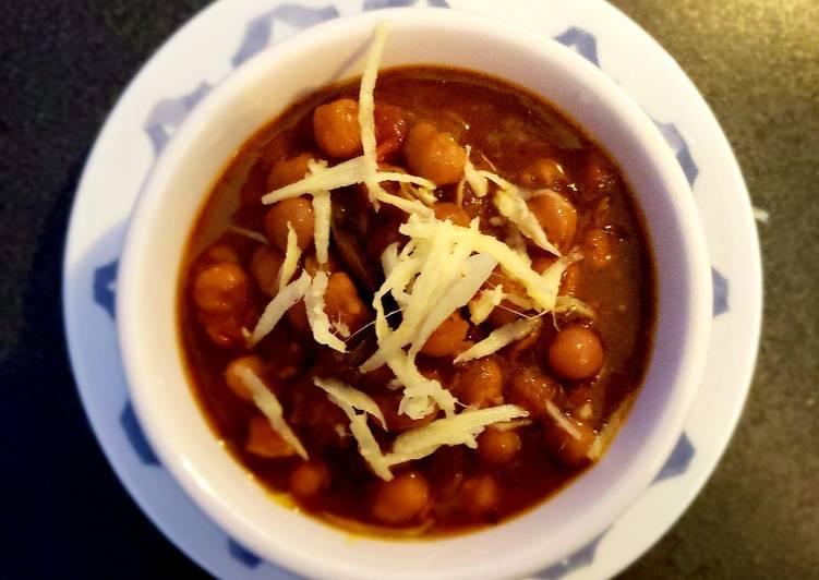 Recipe: Yummy Amritsari chhole😊😋🌶